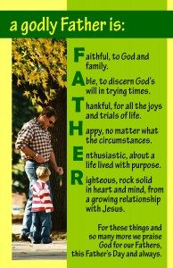 Godly Father Are