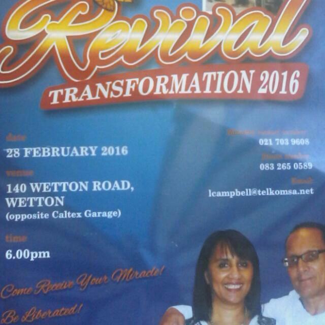 Revival Transformation