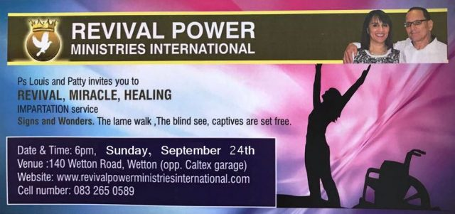 Revival Miracle Healing