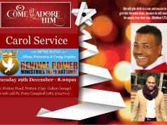 Carol Service 2017