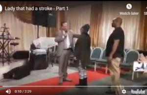 lady that had a stroke