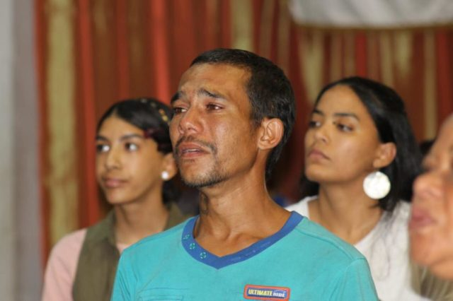 Power of God during worship